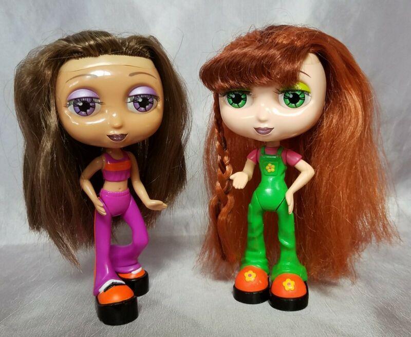 "Summer Nikki doll lot Diva Starz 6"" small Mattel 1999 rooted eyelashes red hair"