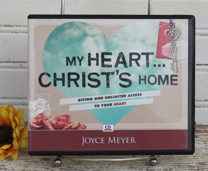 Joyce Meyer My Heart Christ's Home CD Set New