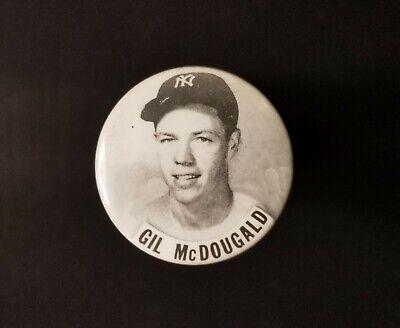 1950/'s PM 10 Stadium Pin Tom Henrich NY Yankees EX+