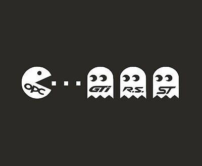 OPC Pacman Sticker Aufkleber Tuning Decal Opel Astra Corsa Zafira  gebraucht kaufen  Oberhausen