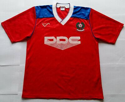 Mega Rare ALDERSHOT 1990 DDC Vintage RIBERO Home Shirt (M) Jersey 1991 1990s image