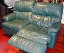 Leather lounge reclining Mount Pleasant Melville Area Preview
