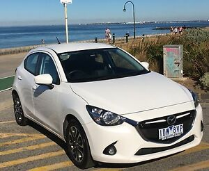 2015 Mazda 2 Genki 6sp Auto White Pearl Elwood Port Phillip Preview