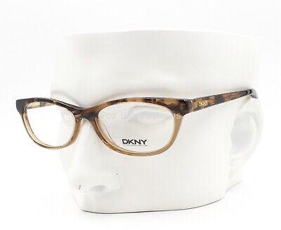 Dkny DY 4629 3557 Eyeglasses Glasses Crystal Brown / Havana 50-15-135 (Small)