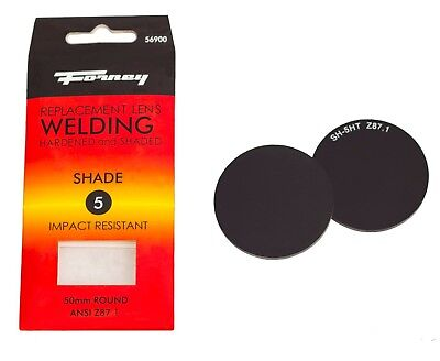 Forney 56900 Replacement Welding Safety Glass Lens Uv-ab Eye Protector Shade 5