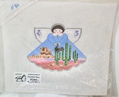 Handpainted Needlepoint Canvas Arizona Angel Painted Pony 994BJ