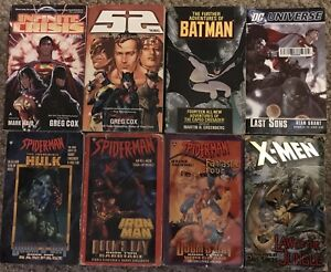 Marvel & DC prose novels