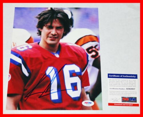 🔥 Rare Keanu Reeves SIGNED Autographed The Replacements 8X10 Picture PSA COA 🔥