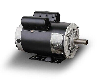 5hp Spl Air Compressor Duty Electric Motor 56 Frame 3450rpm 58shaft 1phase