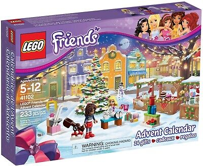 LEGO 41102 Friends Advent/Countdown Calendar Building Set NEW in sealed box