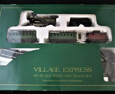 "Dept 56 - Macau ""Village Express"" HO Scale Train & Track Set #5997-8 - PURE MINT"