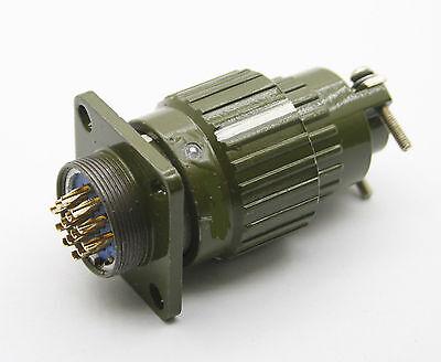 Us Stock Military 14-pin Twist Male Female Connector Plug Y2m-14tkzj Yp21-14