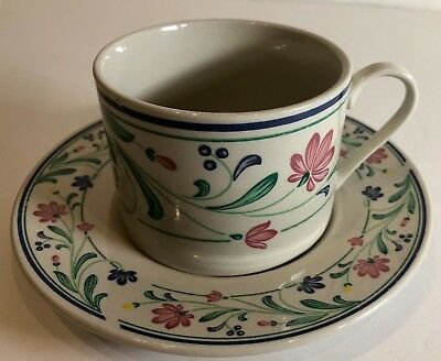 (Farberware Brandywine Set of 4 Cups & Saucers (Oven To Table Stoneware) 4172)
