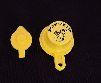 1x Blitz Yellow Spout Cap For Gas Can Spouts 900302 900092 900094 - Free Vent