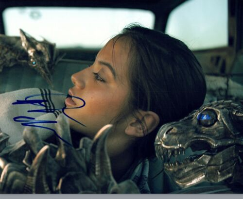 Isabela Moner Signed Autograph 8x10 Photo Transformers: The Last Knight COA