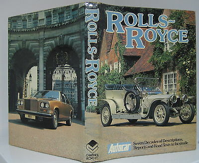 ROLLS-ROYCE THE STORY OF THE BEST CAR IN THE WORLD BY GARNIER & ALLPORT 1978