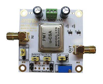Csa Charge-sensitive Amplifier For Photomultiplier Tube Pmt Spectrometry