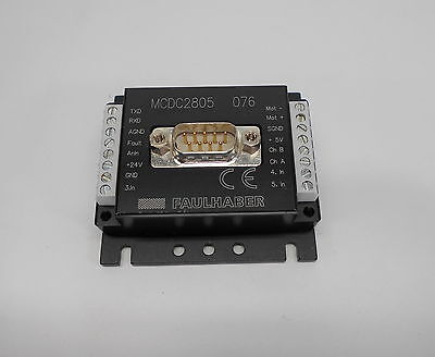 Faulhaber Mcdc2805 Motion Controller For Dc-micromotors