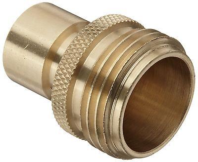Dixon DGH7P Brass Quick-Connect Fitting, Garden Hose Male Pl