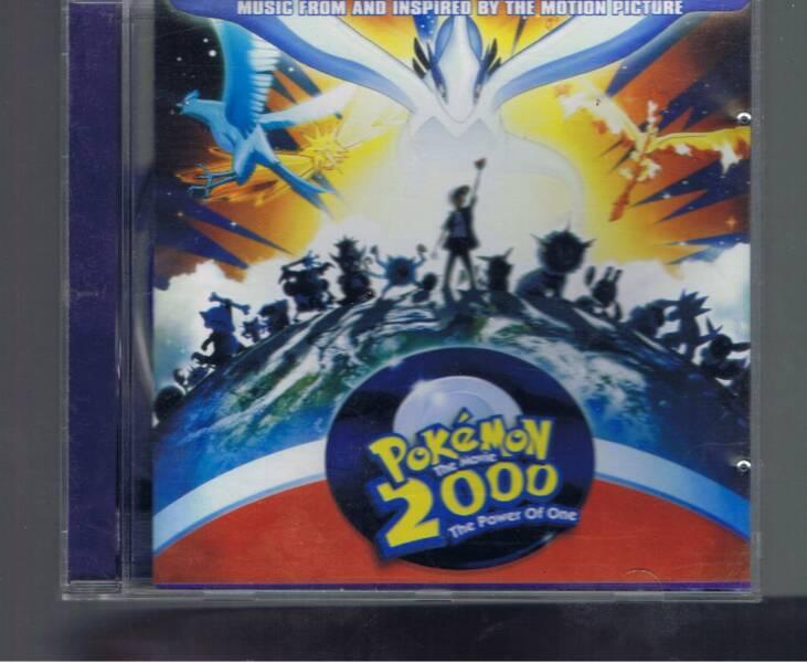 Music Cd Pokemon The Movie 2000 Soundtrack Cds Dvds