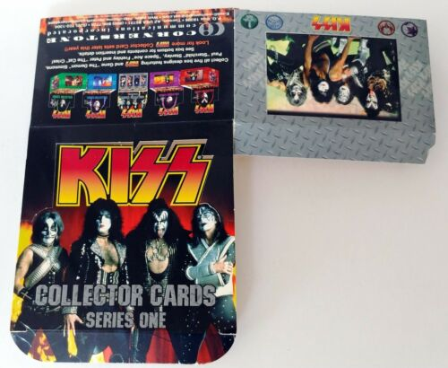 KISS Band Cornerstone Card Series 1 EMPTY Unbuilt Display Box Group Gene Simmons