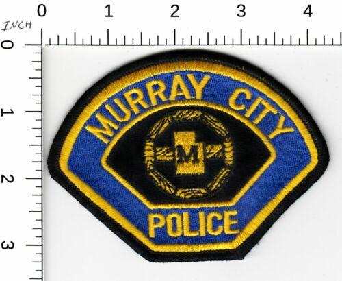 MURRAY CITY UTAH POLICE SHOULDER PATCH UT