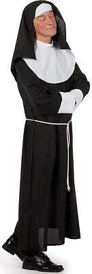 Schwester Paulus Männliche Nonne Kostüm NEU - Herren Karneval Fasching Verkleidu
