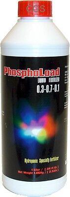 1 Liter of Dutch Master Phosphoload Fertilizer Hydroponic 1 Quart
