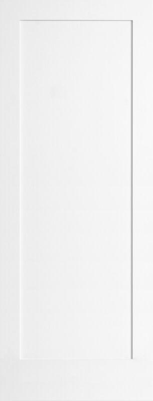 1 Panel Primed Flat Mission Shaker Stile & Rail Solid Core Doors 8