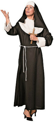 Ordensschwester Martha Nonnen Kostüm NEU - Damen Karneval Fasching Verkleidung - Schwester Nonne Kostüm
