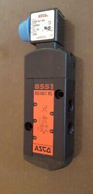 Asco Sc8551a017ms 4-way Solenoid Spoolvalve 240vac Coil.