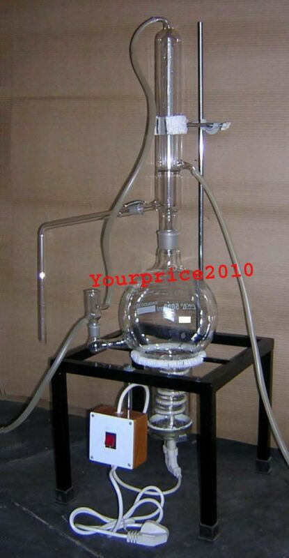 5000ml Distillation Apparatus Lab Glassware KFW Brand Best Offer