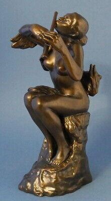 LA JOUEUSE DE FLÛTE Skulptur Camille Claudel Parastone Museion CC04 H 24.50cm