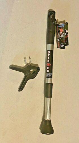 Stik-N-Go Golf Ball Retriever Adjustable Scramble Stick with Golf Cart Clamp