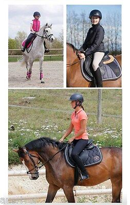 88bf01c14 Fashion Men Women Black Horse Riding Breeches Jodphurs Leggings Pants