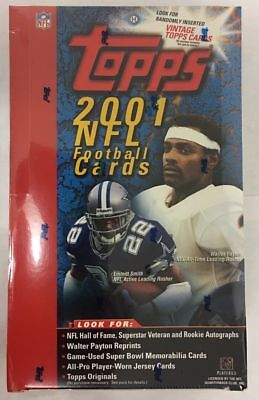 Topps Nfl Trading Card - 2001 Topps NFL Football - PICK YOUR CARD - COMPLETE YOUR SET