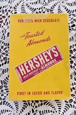 Hersey Candy (VINTAGE 1940'a HERSEY'S WITH ALMONDS CANDY BAR)