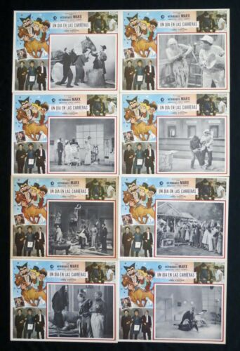 THE MARX BROTHERS A Day At The Races LOBBY CARD SET  NEVER USED 1937