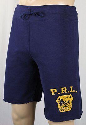 Navy Blue Bulldog - Polo Ralph Lauren Navy Blue Athletic Bulldog Shorts NWT