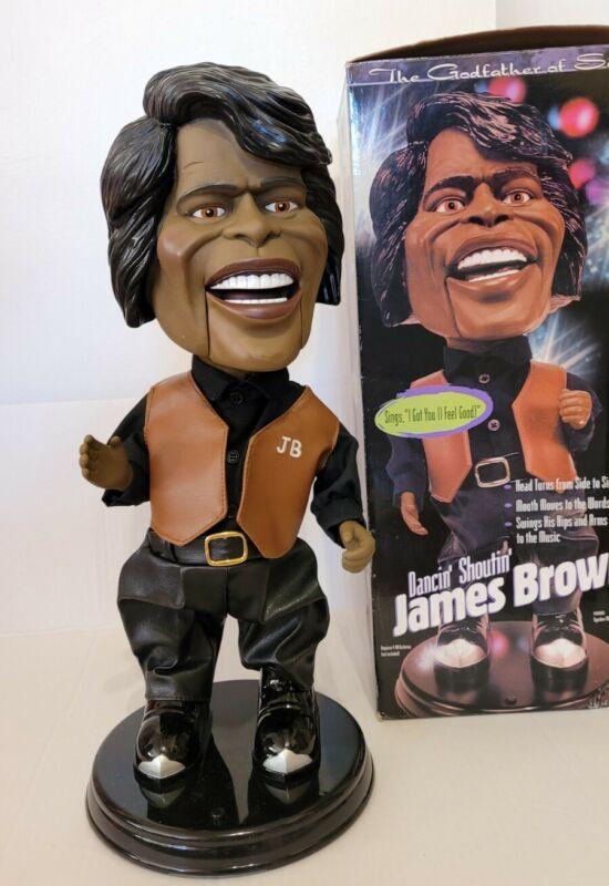 Dancin Shoutin Singing James Brown Electronic Animated 2001
