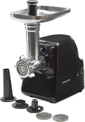 Andrew James Electric Meat Grinder Mincer & Sausage Maker Machine in Black