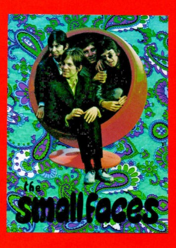 SMALL FACES POSTER. Size large - A2. Mod, Psychedelia.