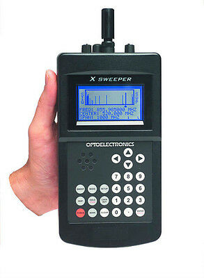 OPTOELECTRONICS X-SWEEPER Bug Detector TSCM Receiver