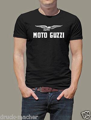 Altes Shirt (T-Shirt Moto Guzzi alt - alle Größen von  Kinder 116 - 5XL - Siebdruck)