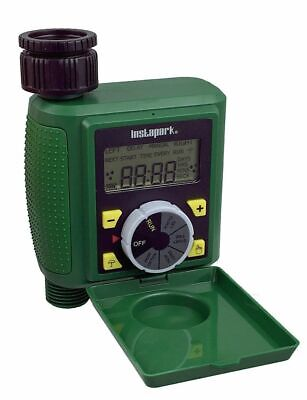 Programmable Water Timer Auto On/Off With Rain Delay Plus Manual Control  Auto Water Timer