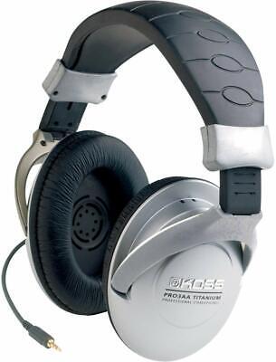 Koss PRO3AA Titanium Collapsible Over-Ear Stereo Headphones