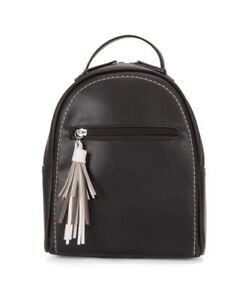 Modern Mini Backpack Black $40