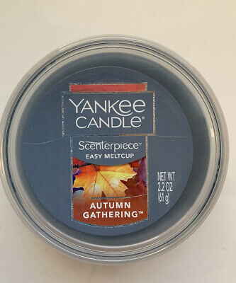 YANKEE CANDLE SCENTERPIECE AUTUMN GATHERING EASY MELT CUP VHTF RETIRED