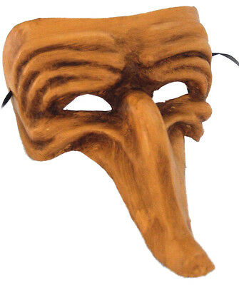 Parade Halloween New Orleans (Venetian Mask Zanni Long Nose Honey Mardi Gras Halloween Parade New)
