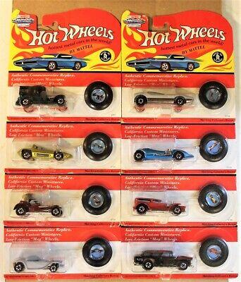 1993 Hot Wheels 25th Anniversary Vintage Series I Set of 8 No duplicates Nice!